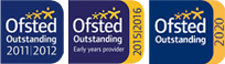 ofsted oustanding 2011 2012 2015 2016 2020